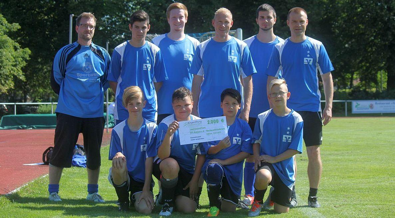 Bürgerstiftung Vorpommern unterstützt unseren Fußball-Nachwuchs
