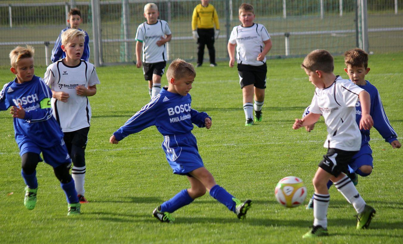 F-Junioren feiern gegen die SG Usedom/Lassan 17:1-Kantersieg