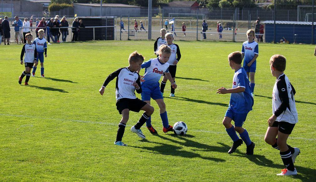E1-Jugend dominiert gegen SG Lassan/Usedom nach Belieben