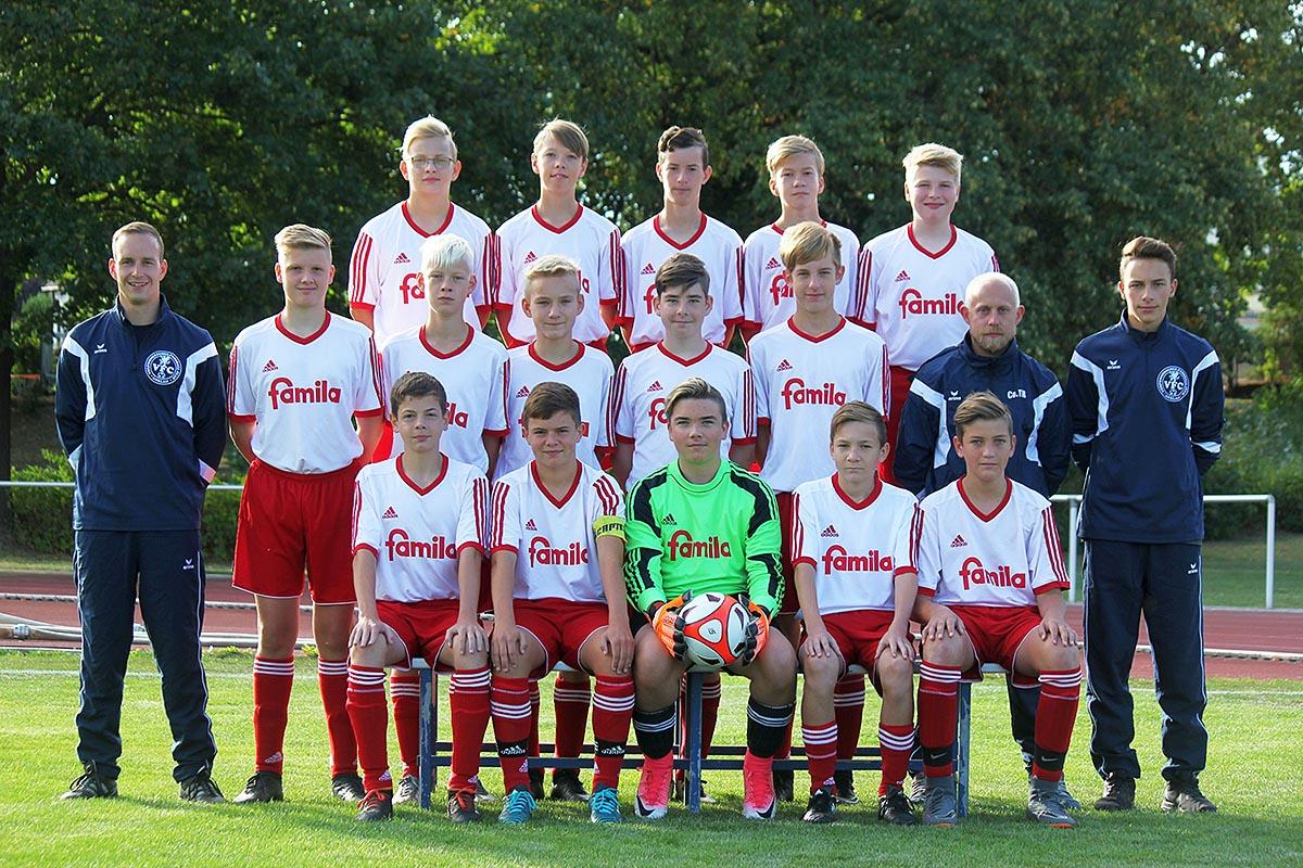 C1-Junioren starten mit 3:1-Auswärtssieg gegen Malchin in die Rückrunde