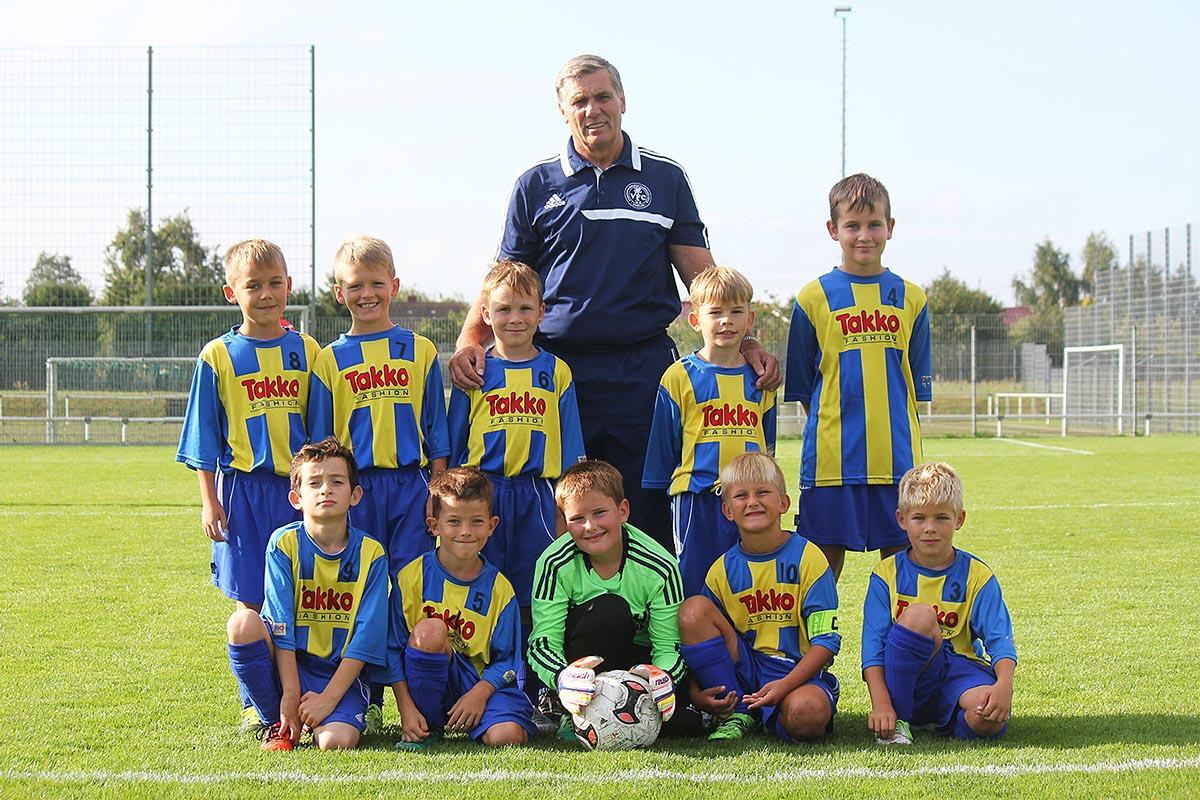 F-Junioren erreichen beim Turnier um den Peenepokal Rang zwei