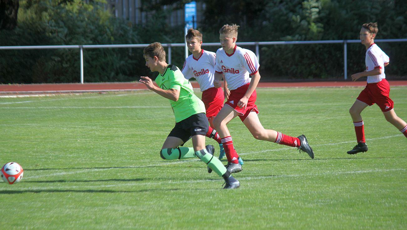 C-Junioren gelingt klarer Testspiel-Sieg gegen Greifswald II