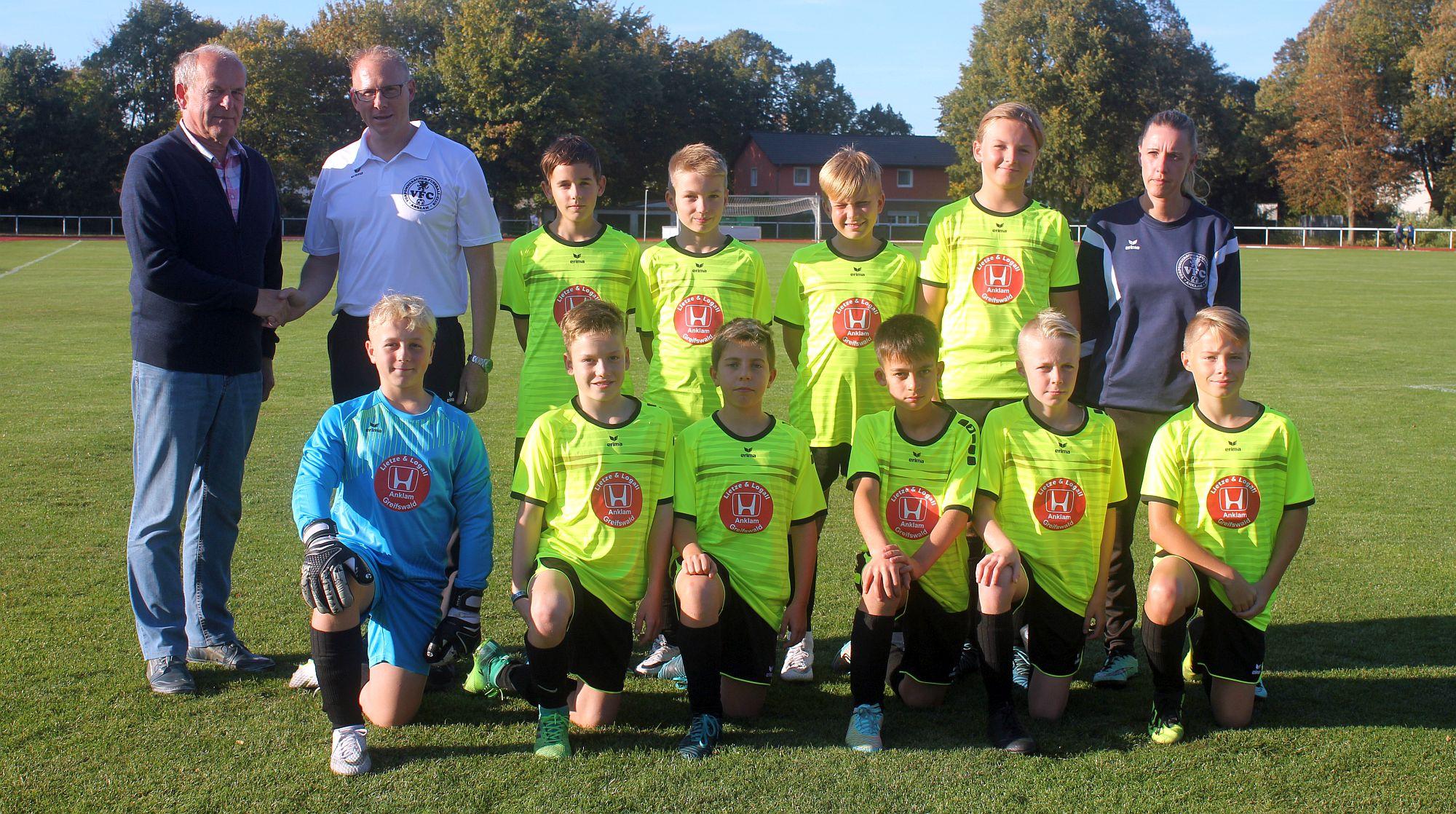 Landesliga: D1-Junioren überzeugen am Haff trotz Niederlage