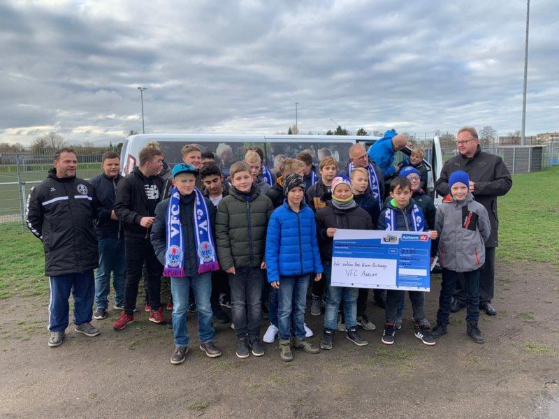 """Antenne MV macht's möglich: Unser Club gewinnt bei der Aktion """"Wir zahlen Ihre Vereinsrechnung!"""""""