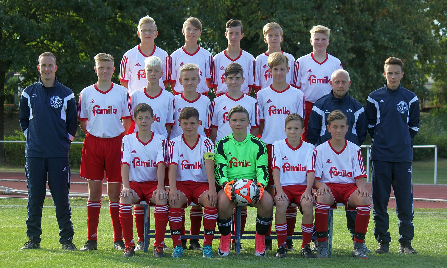 Landesliga: C1-Junioren jubeln in Pasewalk