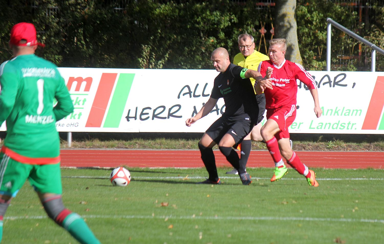 Landesliga-Team will beim Tabellenzweiten SG Karlsburg/Züssow bestehen