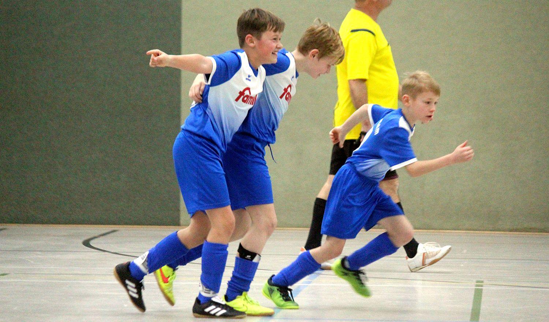 Friedländer Nachwuchs gewinnt den GWA-Cup der E-Junioren