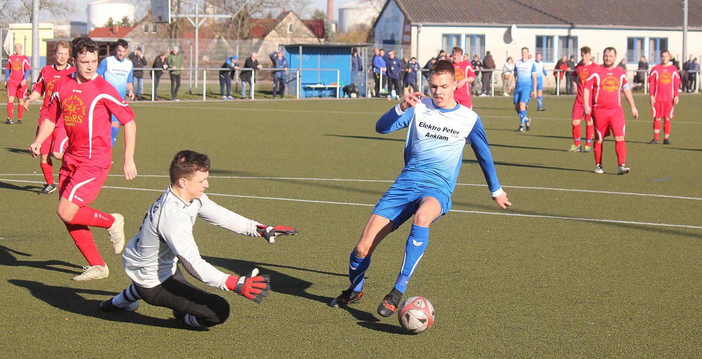 Landesliga-Kicker empfangen den FC Einheit Strasburg
