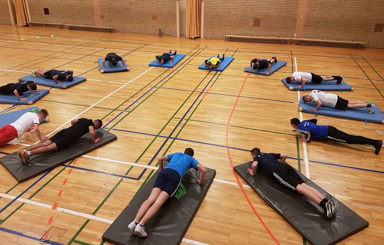 Rückrunden-Vorbereitung: B-Junioren absolvieren intensive Trainingswoche