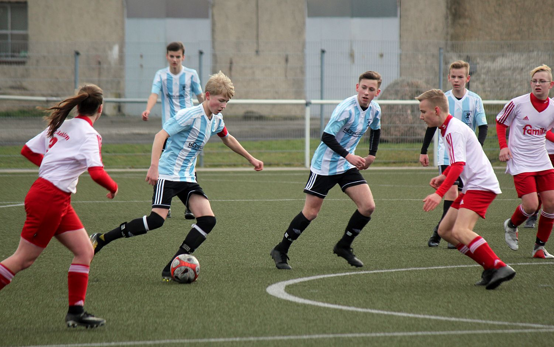 C1-Junioren vergeigen Generalprobe gegen Grimmen