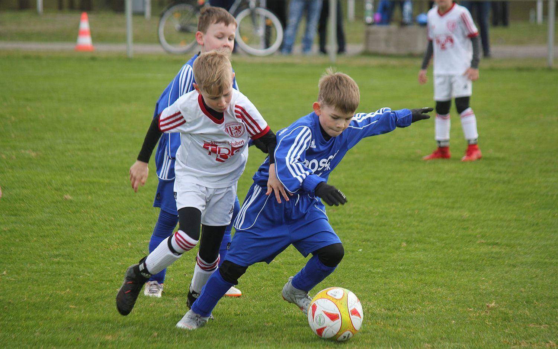 F-Junioren haben im Kreispokal-Viertelfinale keine Chance