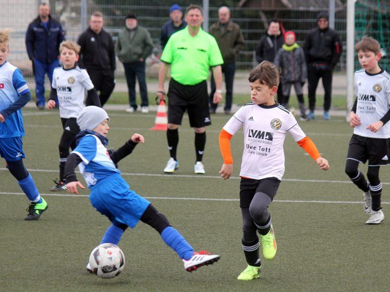 E1-Jugend löst das Ticket fürs Kreispokal-Halbfinale