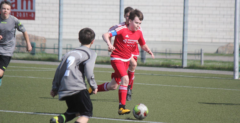 D2-Junioren gewinnen beim FC Landhagen II mit 4:0