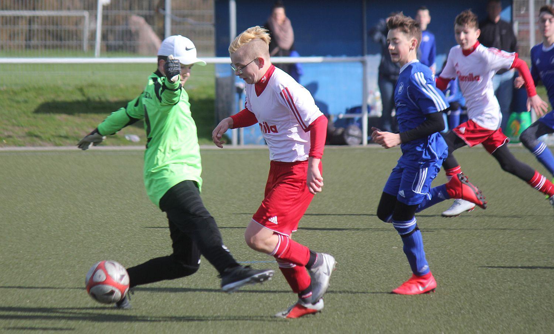 C1-Junioren siegen gegen Neustrelitz nach 0:2-Rückstand mit 6:2