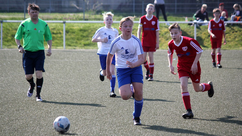 D1-Junioren feiern 2:0-Heimsieg gegen den Greifswalder FC III