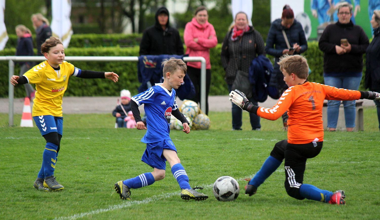 E-Jugend-Kreisklasse: Spiele finden klare Sieger