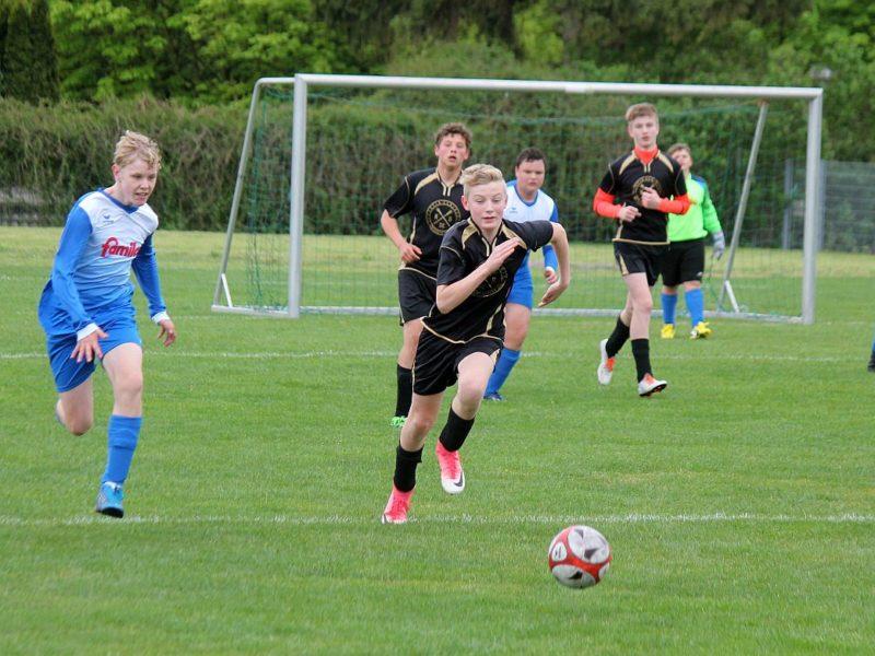 C2-Junioren verlieren auf eigenem Rasen mit 0:2