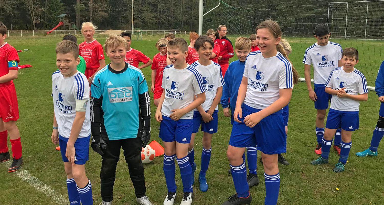 D-Jugend-Landesliga: Packender Fußball-Krimi endet 5:5