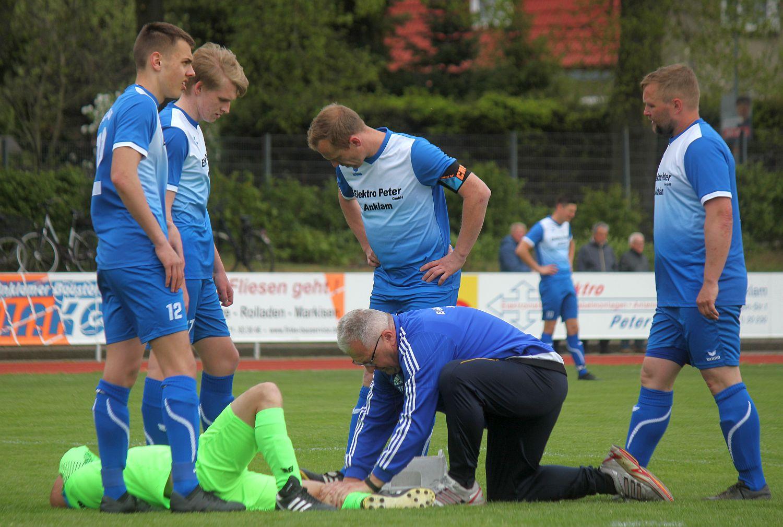 Saison-Endspurt wird für unsere Landesliga-Elf am Sonntag in Rostock eingeläutet