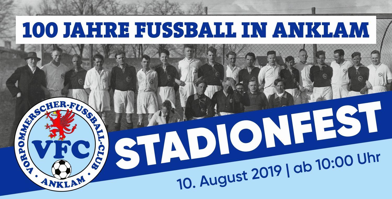 100 Jahre Fußball in Anklam: Das Programm zum Jubiläum