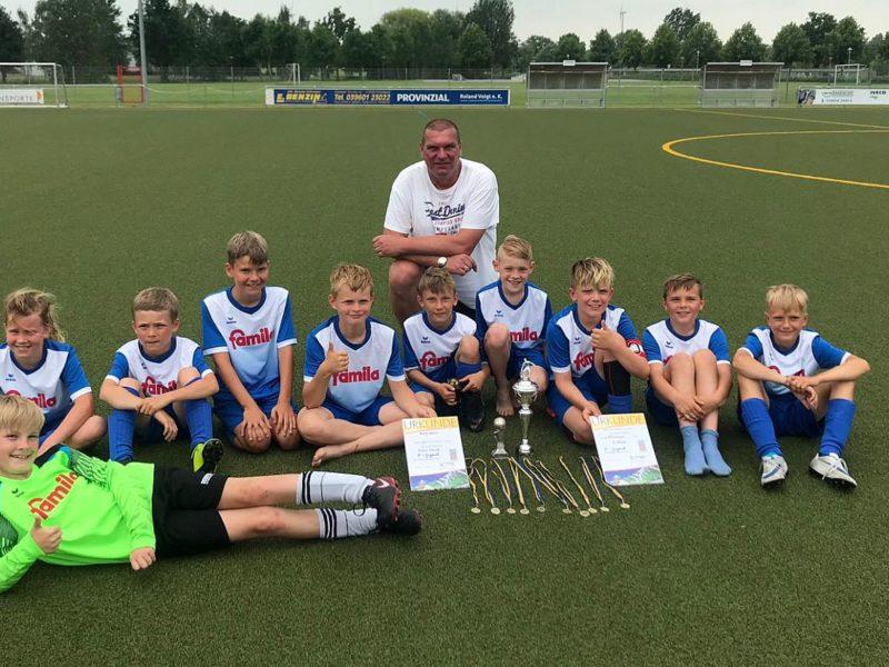 E1-Junioren feiern Turniersieg in Friedland