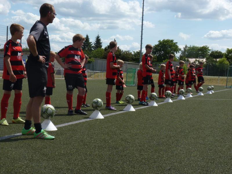 Deutschlands größte Fußballschule macht wieder Station in Anklam