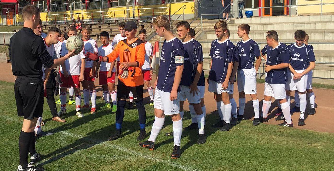 Landesliga: B-Junioren feiern 7:2-Auswärtssieg beim FC Rot-Weiß Wolgast