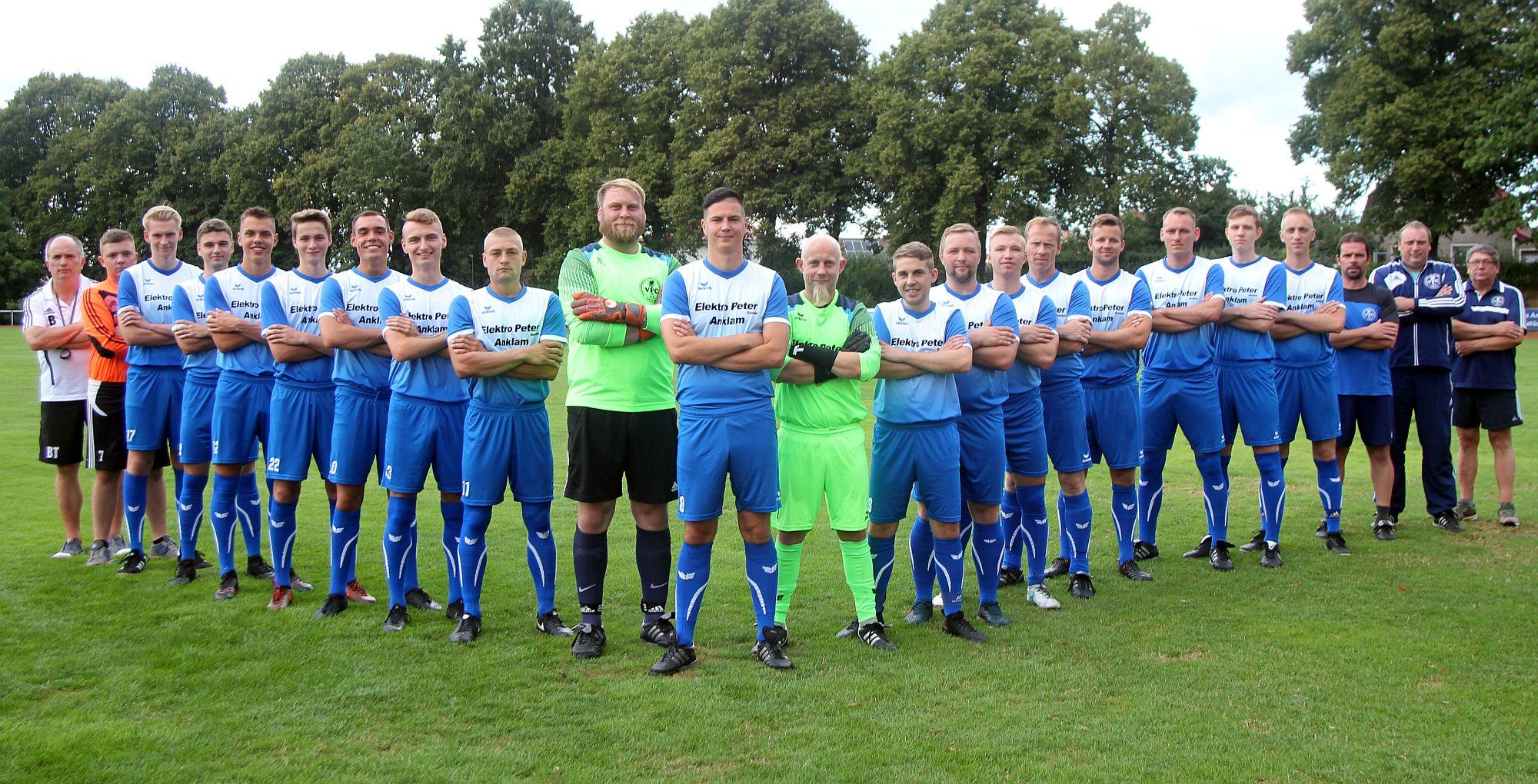 Landesliga-Team beendet die Hinrunde auf dem zweiten Tabellenplatz