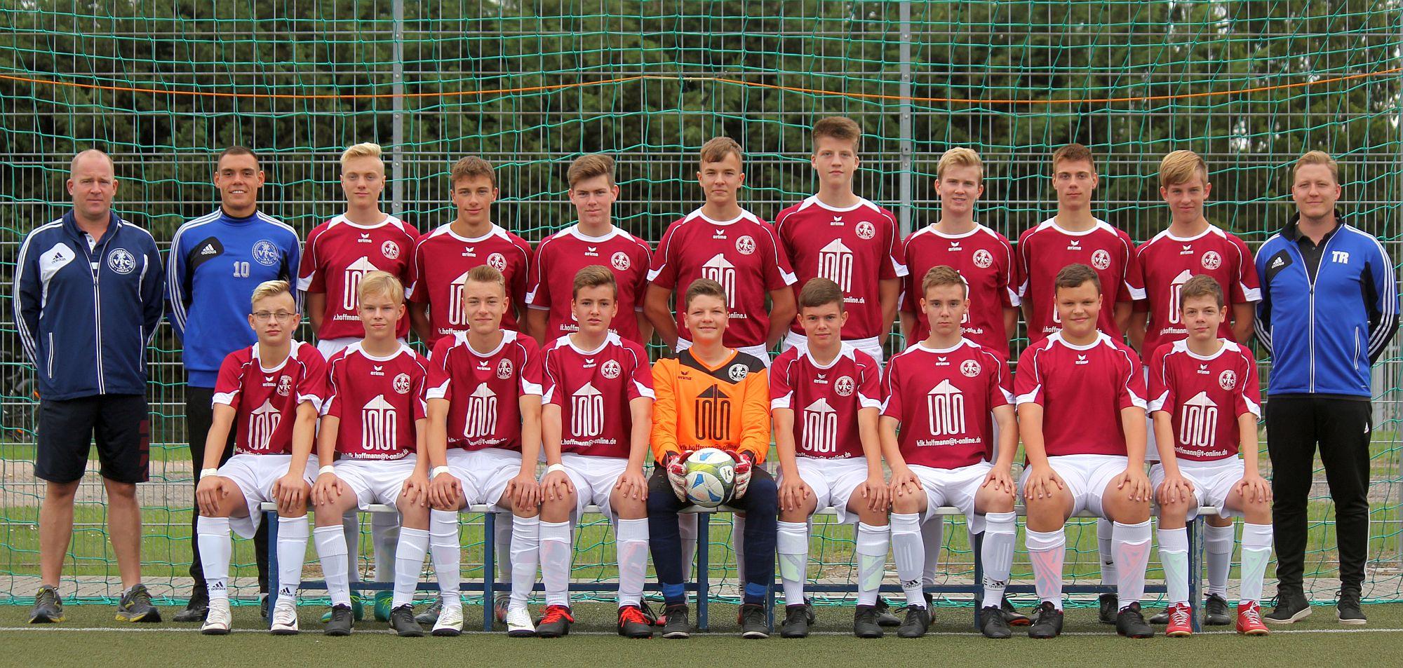 B-Junioren bezwingen Krusenfelde mit 12:0