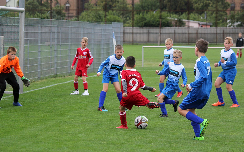 Kreisklasse: E2-Junioren sind gegen den Greifswalder FC I chancenlos