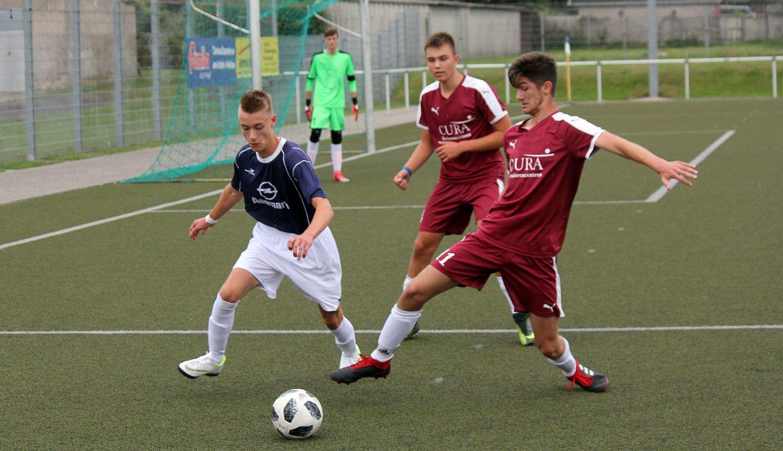 B-Junioren sind beim FC Rot-Weiß Wolgast gefordert