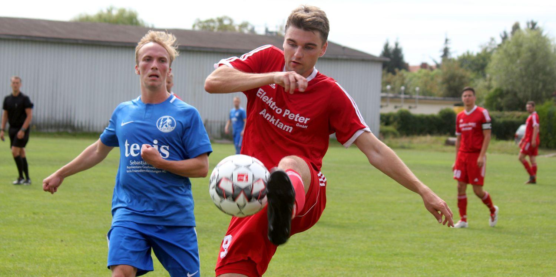 Landesliga-Elf empfängt die SG Karlsburg/Züssow