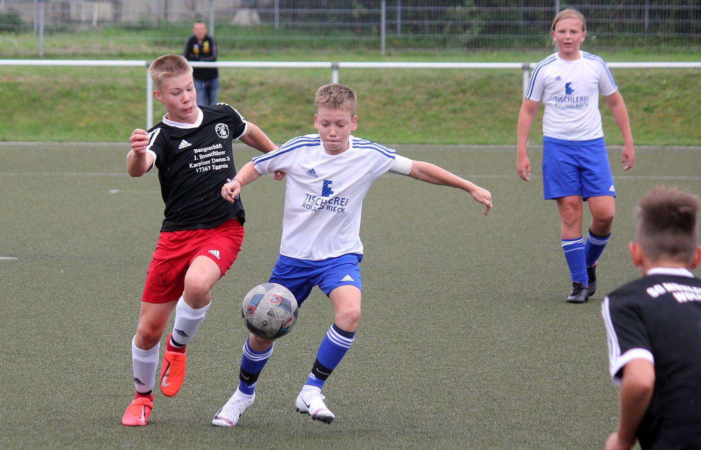 D1-Junioren verlieren Landesliga-Auftaktspiel mit 1:6