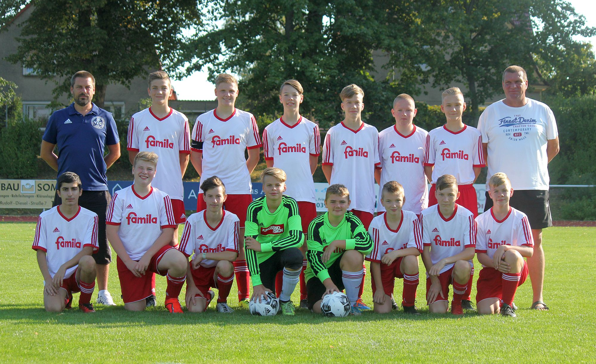 C1-Junioren kassieren verdiente Niederlage im Spitzenspiel beim Malchower SV