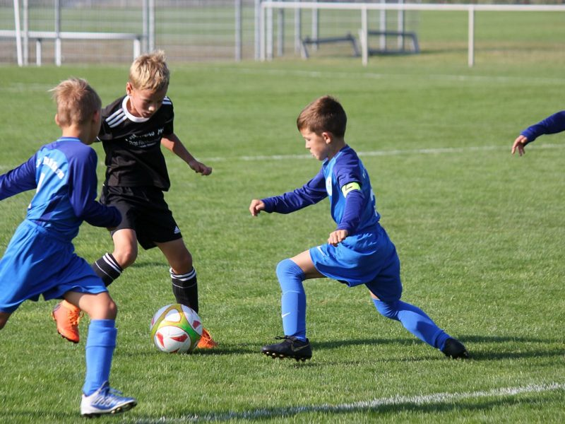 F-Junioren haben der SG Ahlbeck/Usedom nur wenig entgegenzusetzen