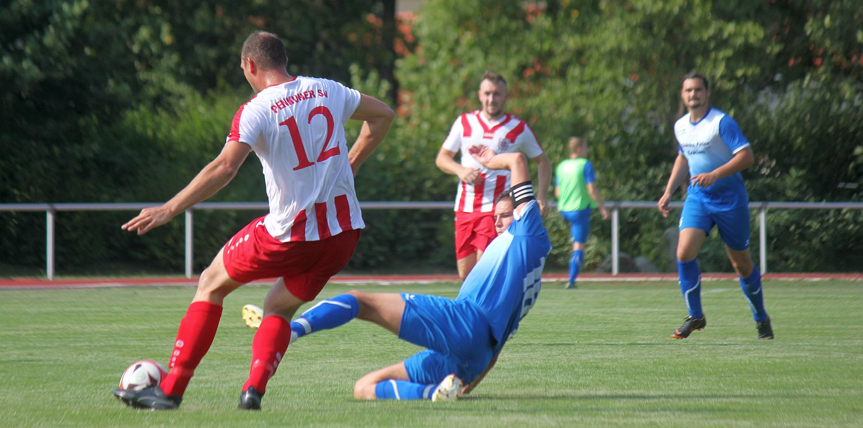Landesliga-Kicker empfangen punktgleichen Tabellennachbarn