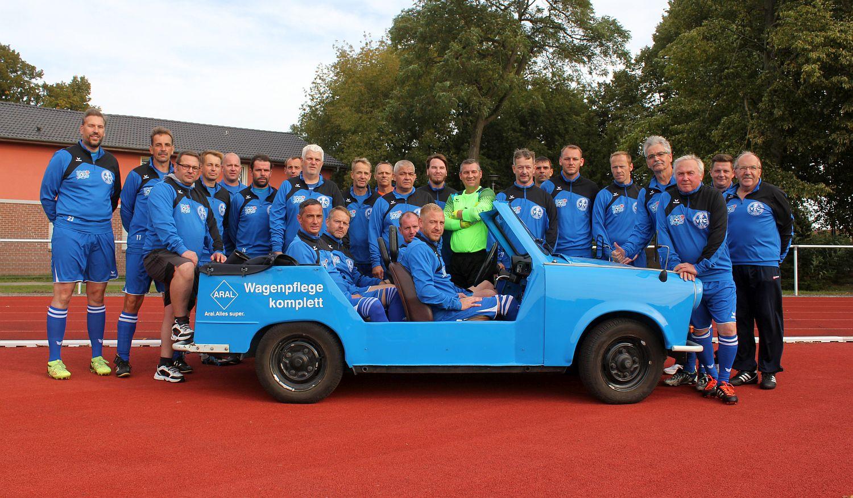 Ü35-Kicker gewinnen in Ferdinandshof mit 4:0