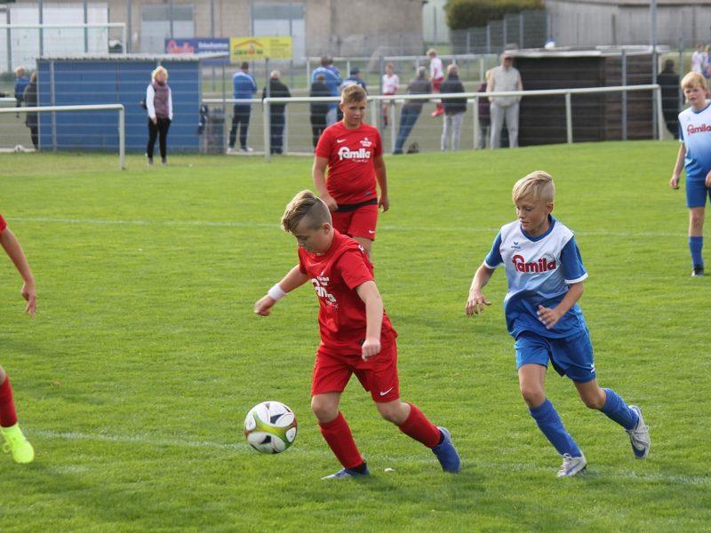 E1-Junioren verlieren spannendes Spitzenspiel gegen Wolgast