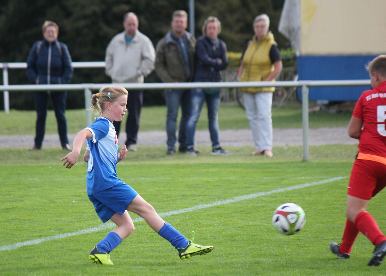 E-Junioren bezwingen den FC Landhagen mit 7:1