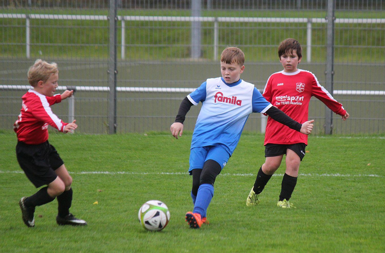 E1-Jugend zieht ins Kreispokal-Achtelfinale ein