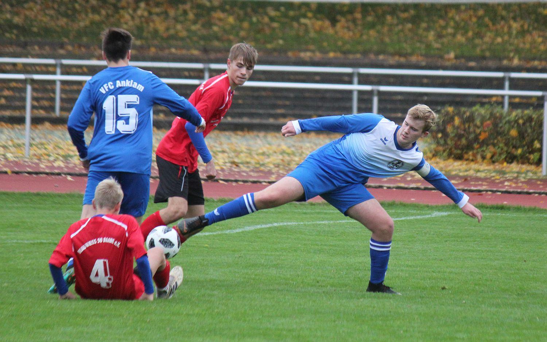 Landesliga: B-Junioren behaupten die Tabellenführung