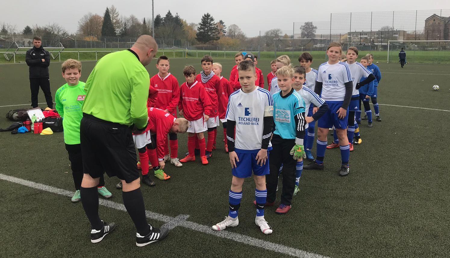 D1-Junioren feiern 4:1-Derbysieg gegen Rot-Weiß Wolgast
