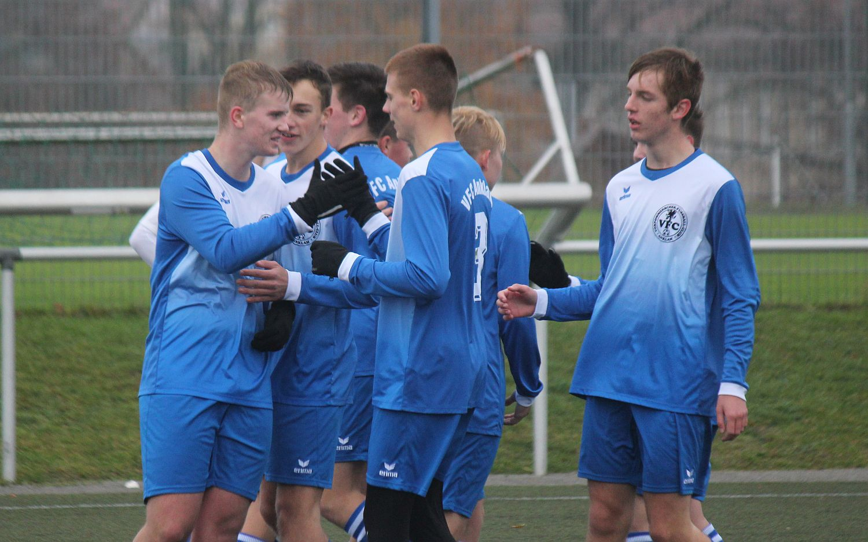 Packender Pokalkrimi ohne Happy End: B-Jugend verliert gegen Bergen