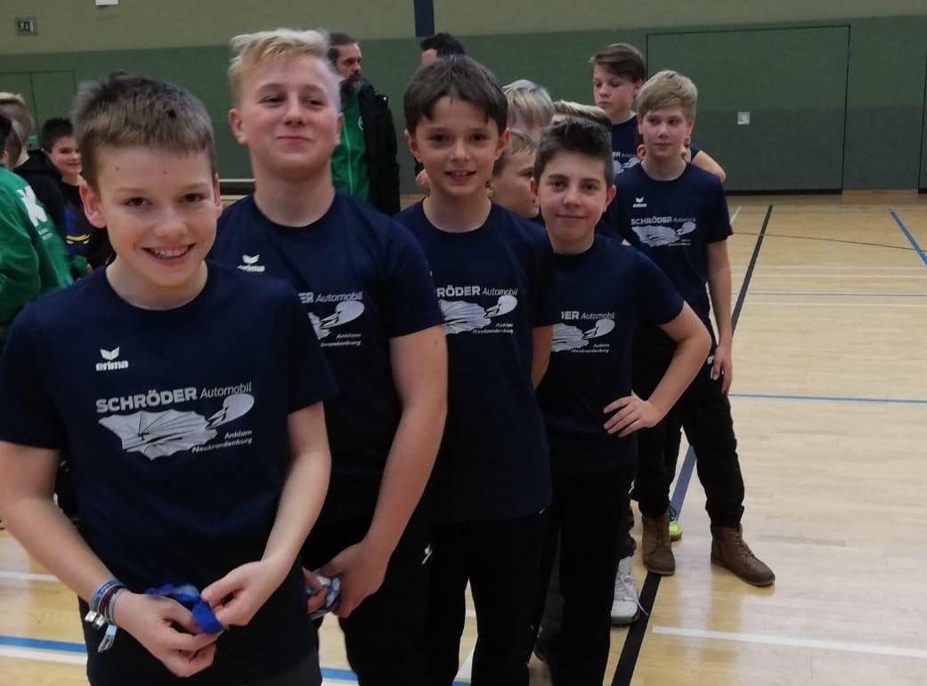 D1-Junioren kommen in Güstrow nicht über Platz neun hinaus