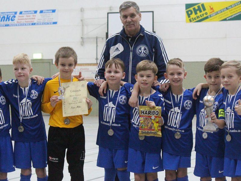 F-Junioren beenden GWA-Cup auf dem Silberrang