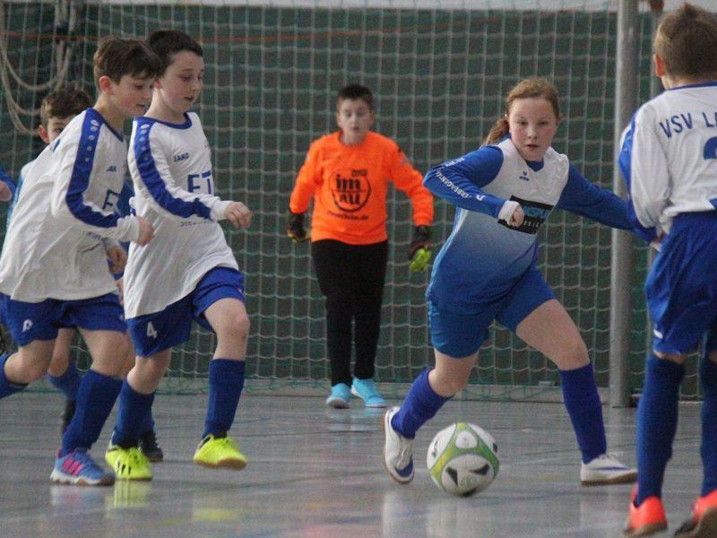 E1-Junioren verpassen Turniersieg in eigener Halle nur knapp