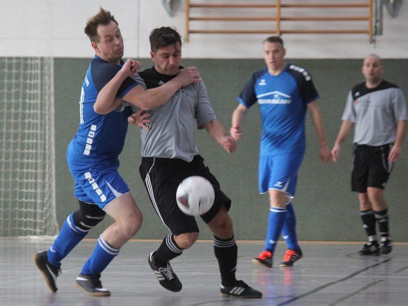 Hallencup 2020: Ü35-Team verpasst Turniersieg im Volkshaus nur knapp