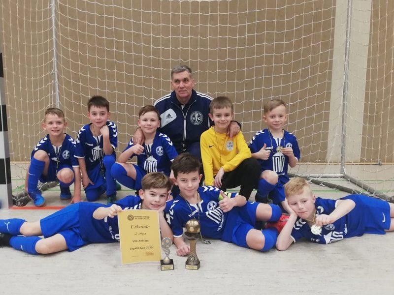 F-Junioren erreichen in Torgelow den zweiten Platz