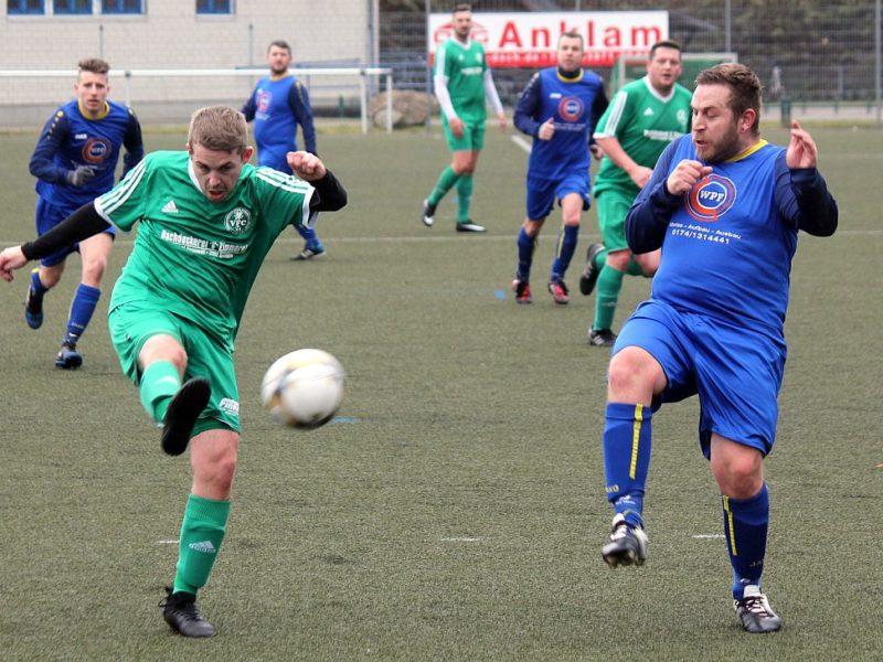 Kreisliga-Elf startet mit 8:0-Heimsieg in die Rückrunde