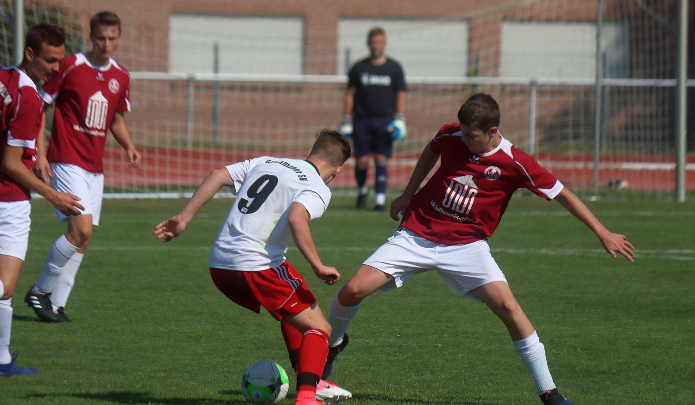 A-Jugend lässt gegen Grimmener Nachwuchs-Teams nichts anbrennen